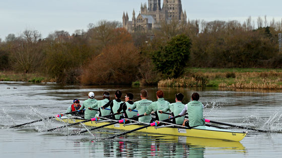 Once a year we all get a glimpse at some of Cambridge and Oxford's finest athletes in the Boat Race.