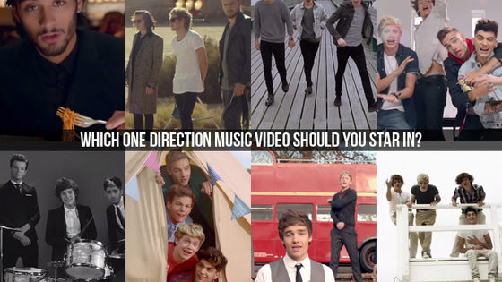 Few artists have more memorable music videos than One Direction–but which 1D music video is the most YOU? Just answer a few simple questions to find out which of their music videos you should star in!