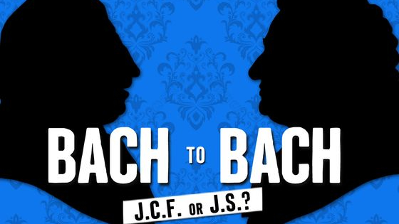 See if you can tell the difference between music composed by J.S. Bach and his son, the lesser-known J.C.F. Bach. Play each video to hear an excerpt of a work, then choose which Bach composed the piece by clicking the pictures below.