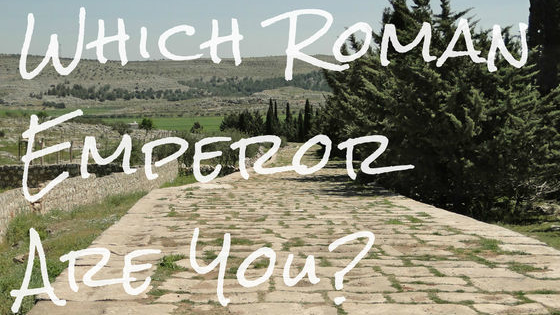 Ever wonder which Roman Ruler you are most like? Find out here!
