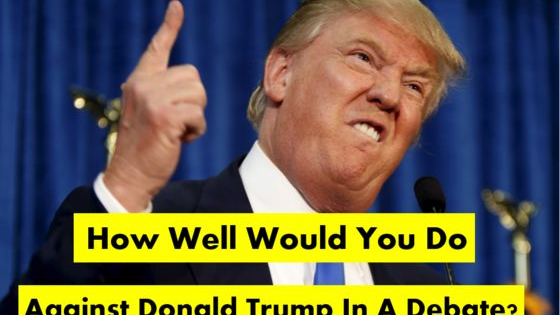 How well would you do against the Republican Party's front-running candidate?