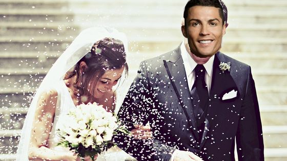 Someday your Prince will come, and the world will sing, wedding bells ring, someday, and he just so happens to be a famous footballer.