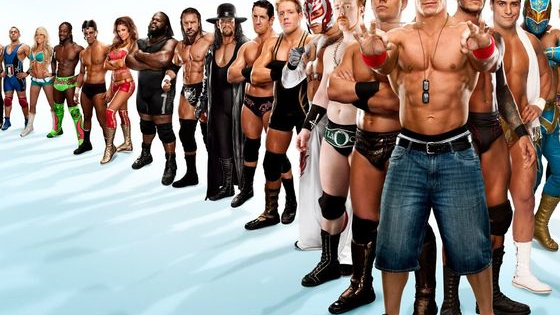 can you guess tthese wwe superstars?