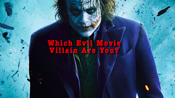 We can't all be heroes. Some of us are just born to be downright evil! Which are you? Are you the Hero or the Evil Villain? This test will show you what you're made of.