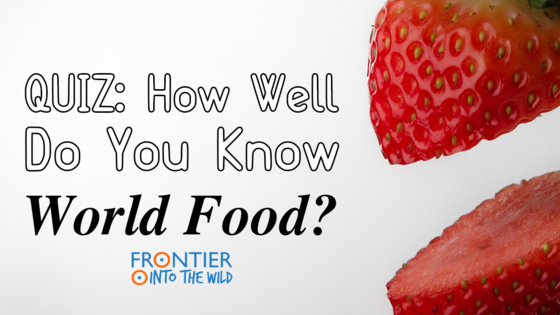 Food is such an amazing part of travel, so put your foodie knowledge to the test with today's culinary quiz.