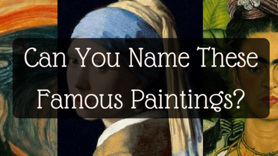 Do you know Van Gogh from Michelangelo?