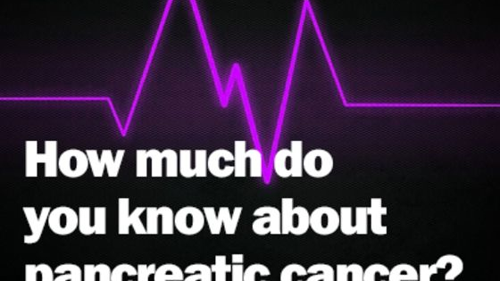 Take this quiz and see what you really know about this deadly disease. Share your results on social media, and help us spread the word for Pancreatic Cancer Awareness Month! For more information about pancreatic cancer, and the sources for these answers, check out our website.