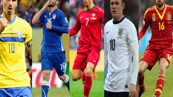 The Euros are upon us and most of us would probably give our right arm to be representing our country at them. However, as that's likely not possible, we've come up with the next best thing. But which footballer are you: Ibrahimovic, Ronaldo, De Rossi, Rooney or Busquets.   Take the test to find out!