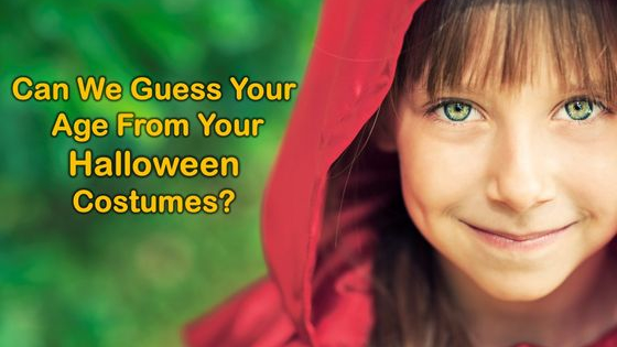So many classic costumes... So many years... Take a trip down memory lane and see if we can guess your age!