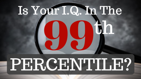 No flashy images, no gimmicks, just straightforward statistics: If you can correctly identify these fourteen English terms, your IQ is within the top 1% of all English-speakers. Ready?