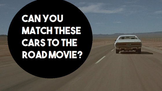 How much of a road movie fan are you? Take a look at these classic films and see how well you can remember them!