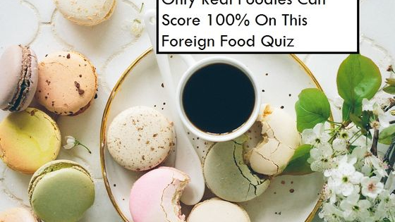 How much of a food lover are you?
