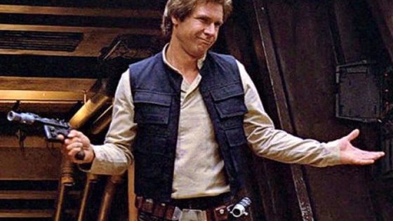 So you think you know Han Solo? Well this quiz is designed to seperate the Jedi masters the from the laser brains