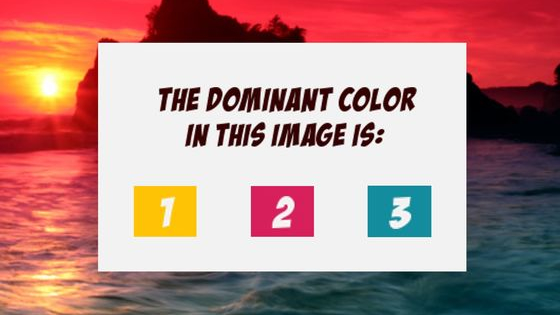 According to psychologists, there have been popular studies that have shown substantial associations between color and how people act/feel. Find out what the dominant colors you choose say about your emotions!