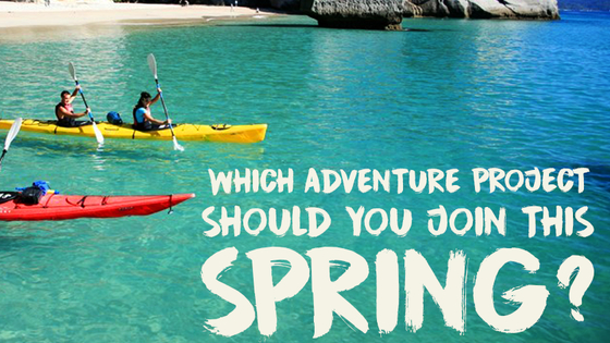 Want an adventure to escape the January blues? Let Frontier show you where you should be testing your limits this Spring!
