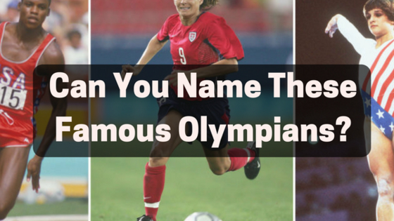 Can You Name These Famous Olympians?