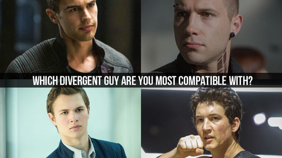 Can't wait for Insurgent? We can't either! Until then, bide your time with this quick test to find out which Divergent boy you're most compatible with. Just select your zodiac sign and find out if you're meant to be with Four, Eric, Peter or Caleb.