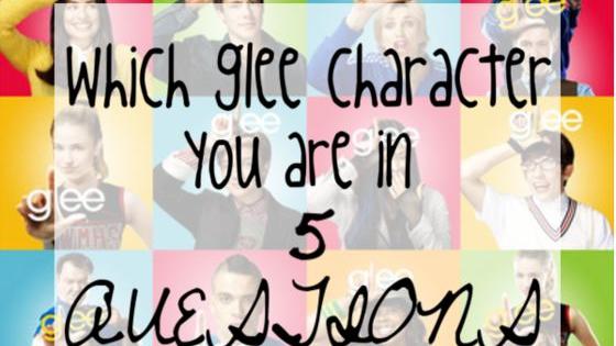 Characters Include: Rachel, Finn, Kurt, Mercedes, Tina, Artie, Quinn, and Santana