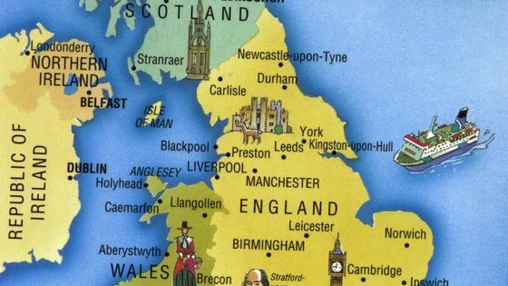 Take our picture test and we can guess where you're from or where you should be from in the UK.