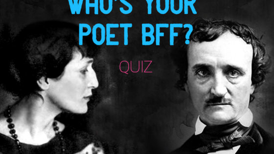 Have you ever been asked which famous writer you would most like to spend an evening with, only to discover that you can't make up your mind? In honor of National Poetry Month, we have created the perfect short quiz to help you find your poet soulmate and BFF. Find out which poet you were born to be best friends with, and have a happy #PoetryMonth!