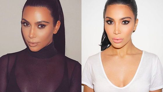 Is the real Kim K on the left... or right? Choose wisely!