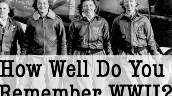 Take the quiz and let's see how well you know your facts about World War II!