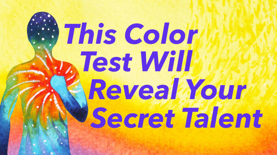 Colors are very powerful. They can change our perceptions, they can lighten our moods and they can even unlock secrets! Like your secret talent!