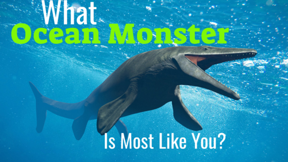 Deep in the ocean, there is a mysterious monster who you share a personality with. Which monster it is says much about your personality. Answer these questions to find your spirit creation of the ocean.