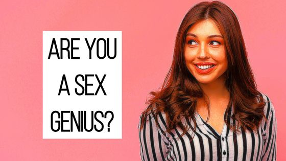 Right now, 19,000 people are having sex. 32,000 are making out. 75,000 are just hugging. And you…well... you're taking this quiz...