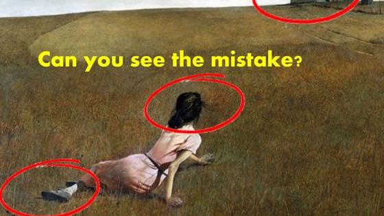 Can you find the mistakes in these famous paintings and photos?
