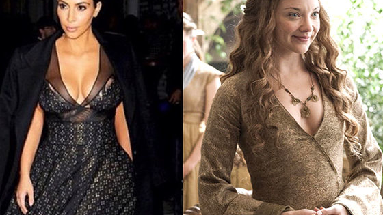 "Actress Natalie Dormer compared her 'GoT"" character Margaery Tyrell to Kim K. Can you guess which lady said what?"