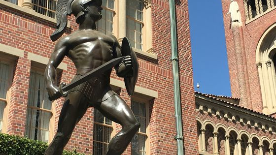 A key part of USC's beautiful campus is the many statues scattered about. This test looks to see just how well you know these magnificent stone creations.