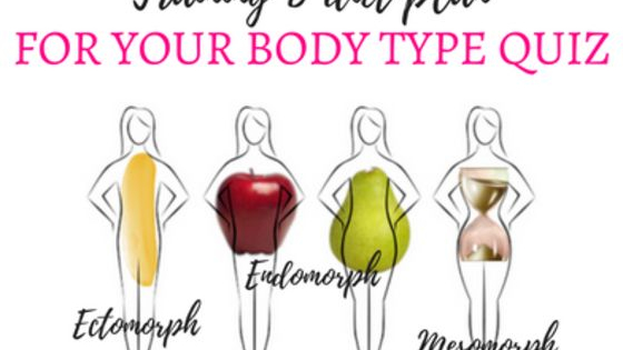Take this quiz to find out your body type and get a customized eating plan and exercise/training guide.