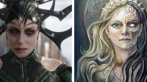 Are you more of a Hela, or a Freya?