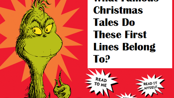 Can you name these tales based on the first line?