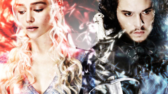 Ice or fire? Direwolf or Dragon? Stark or Targaryen? Jon or Dany...