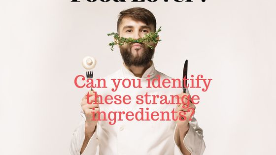 Only a real food expert knows all the ingredients in this test!