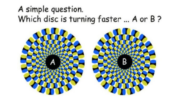 How attentive are you to perceptual images?