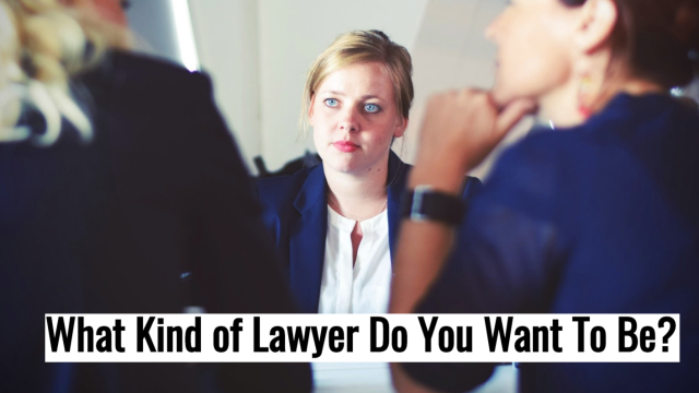 Take our test to find out what kind of lawyer you want to become