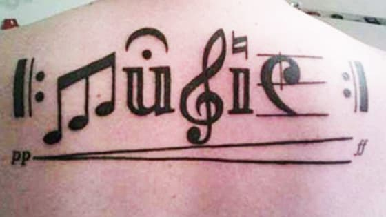 Sometimes, you're so passionate about something, you need a tattoo to tell the world. If you've ever considered getting a tattoo (or *another* tattoo), check out the ink these 20 music lovers got for inspiration.