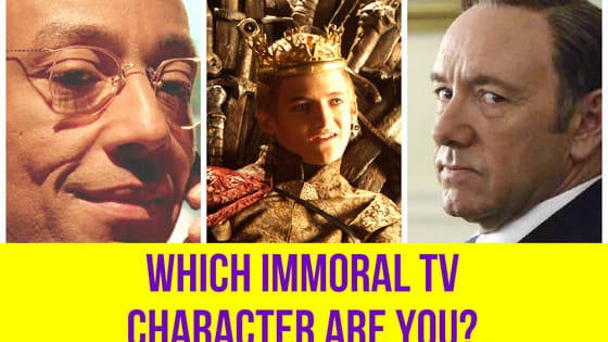 Which TV villain channels your angry side?