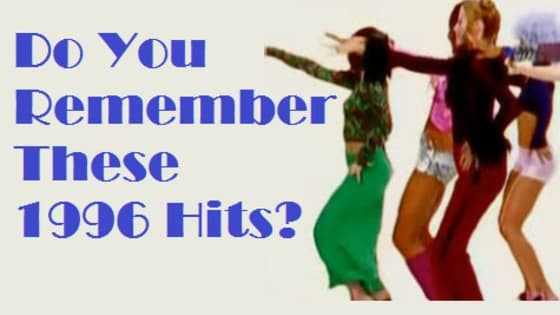 Today is gonna be the day that...you test your knowledge of the singles released in 1996.