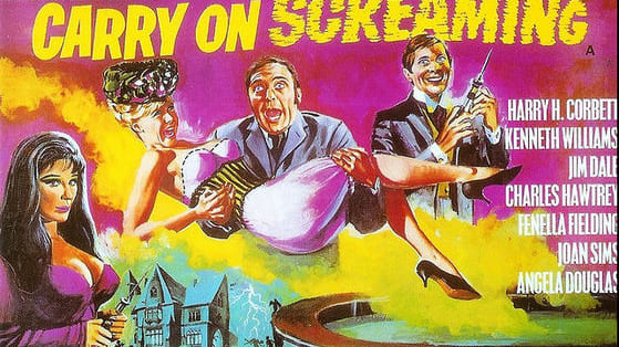 """The """"Carry on"""" gang delve into the world of monsters and frights in this glorious spoof, the laughs are big and the characters are far, far larger than life, but which one are you most like? Let's find out ....."""
