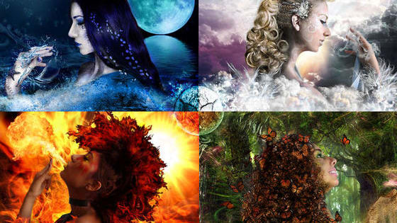 Which element are you out of the four: wind, fire, water, or Earth?  Take the quiz and find out!  Comment which one you got and which one you wanted!