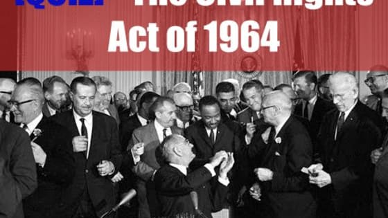 On July 2, 1964 the Title VII of the Civil Rights Act of 1964 was signed, forbidding employers and unions from discriminating on the basis of race, color, gender, nationality, or religion