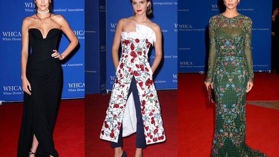 An array of celebs attended last night's WHCD, but who wins your vote for best dressed? Cast your vote for red carpet queen!