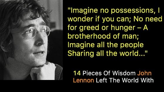 More John Lennon Quotes: http://beatlesdaily.com/category/beatles/beatles-quotes/