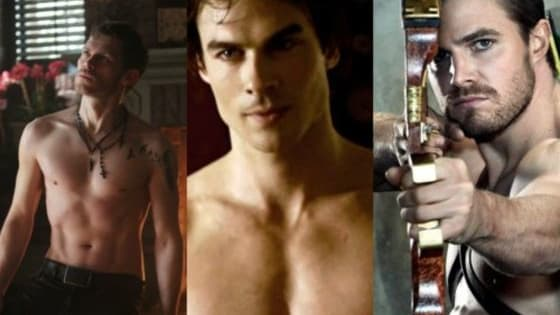 Because it's a requirement that all actors on the CW be ridiculously attractive.