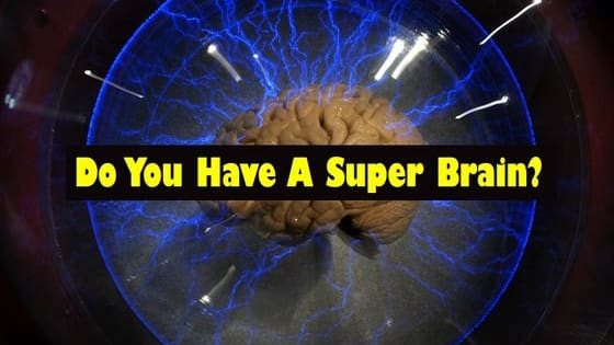 There are only 50 people in each state that possess a superbrain. Are you one of them?