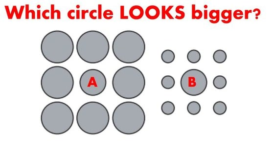 This particular optical illusion can't trick children, but it's very confusing for adults.